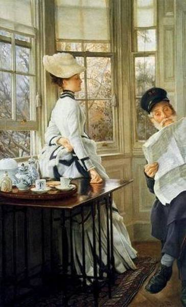 Reproduction peintre Tissot100