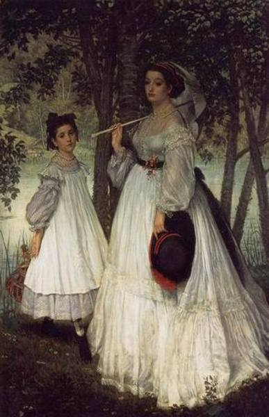 Reproduction toile de maitre Tissot076
