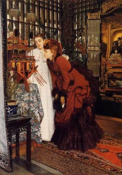 Reproduction tableaux de maitre Tissot072