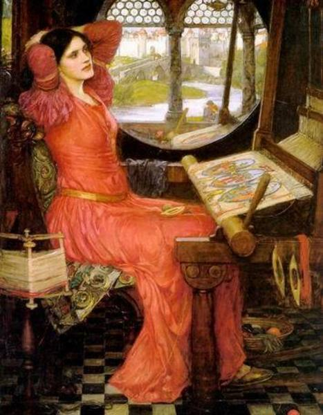 Reproduction de tableaux de maitre Waterhouse039