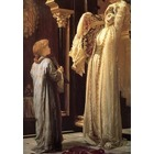 Reproduction tableau toile Leighton008