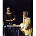 Vente copie tableaux Vermeer08