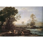 Reproduction tableau art Lorrain024
