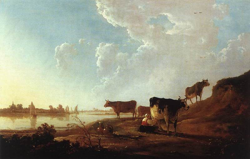 Reproduction oeuvre Cuyp019