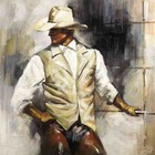 Reproduction tableau Cowboy 5