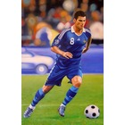 Tableau football reproduction portrait Yohan Gourcuff