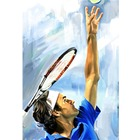 Reproduction portrait Roger Federer