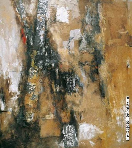 Peinture contemporain LY07abstract160