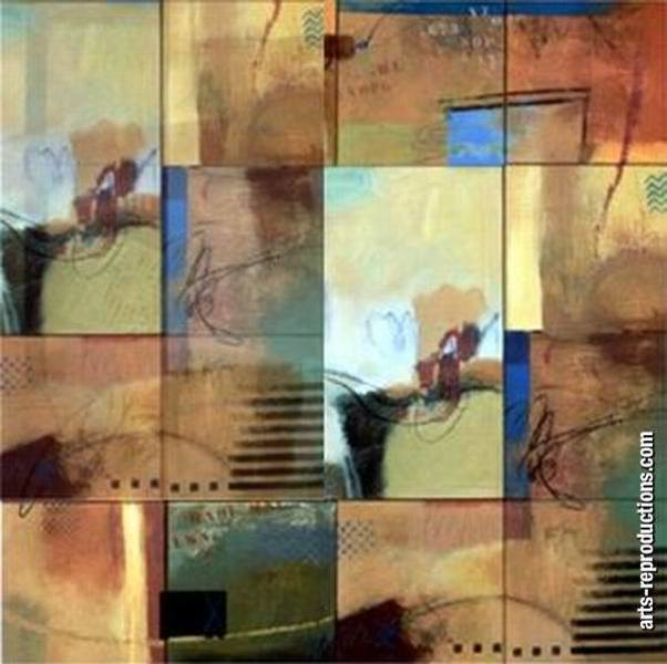 Vente reproduction peinture LY07abstract330