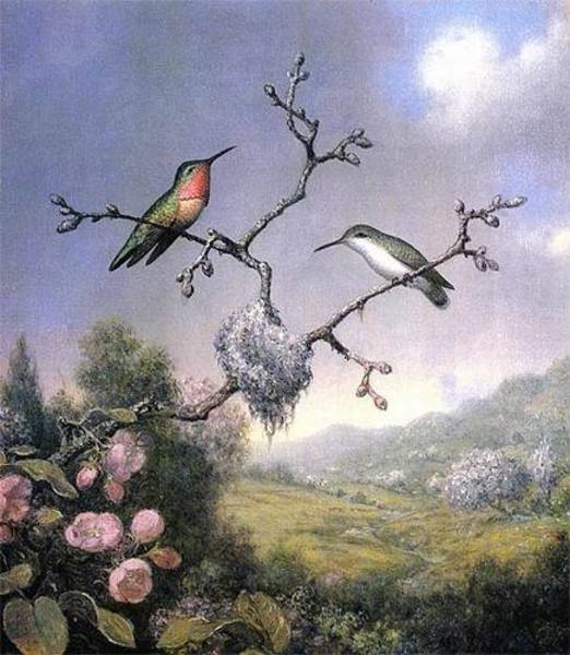 Reproduction peinture Heade077