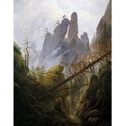 Copie tableaux de peintre Friedrich022