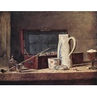 Reproduction tableau toile Chardin042