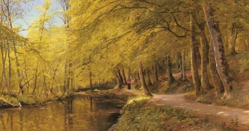 Reproduction de tableaux de peintre Monsted024