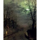 Reproduction de tableau Grimshaw010