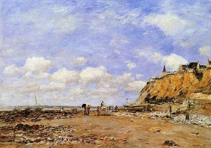 Reproduction oeuvre boudin059