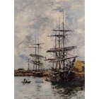 Vente tableau reproduction boudin004