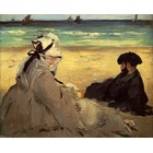 Tableau toile Manet037