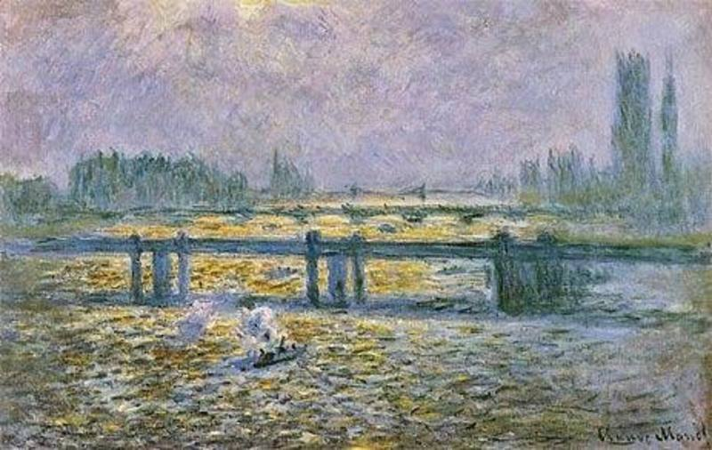 Reproduction de tableaux de peintre Monet159