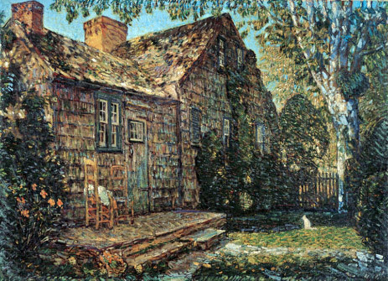 Copie tableau art hassam022