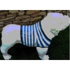 Sculpture animal en résine BULLDOG BOULEDOGUE USA GM DEBOUT MARINIERE