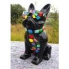 Statue animal en résine BULLDOG BOULEDOGUE PM CRAVATE SMARTIE