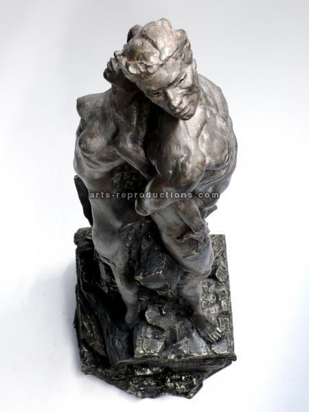 Sculpture d'art Statue en Bronze Fusion