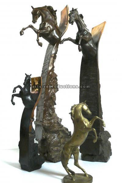 Sculpture d'art Statue en Bronze Trophees