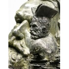 Sculpture d'art Statue en Bronze Victor Hugo