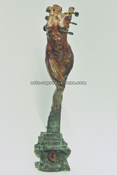 Sculpture d'art Statue en Bronze accord 001