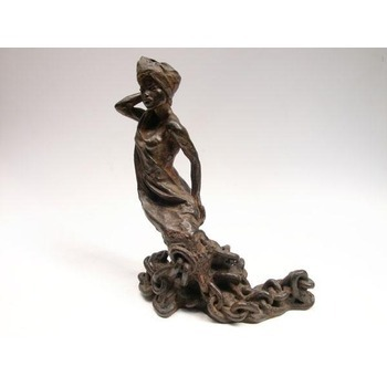 Sculpture d'art Statue en Bronze Femme escalve 642