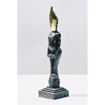 Sculpture d'art Statue en Bronze Georges Sand