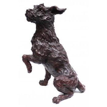 Sculpture d'art Statue en Bronze Gino