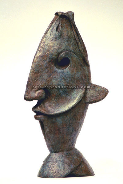 Sculpture d'art Statue en Bronze poisson